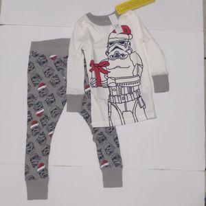 Gap kids boy 2 piece set pijama